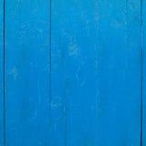 Geschilderd houten omheiningsfragment Stock Foto's