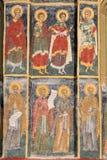Geschilderd klooster Royalty-vrije Stock Afbeelding