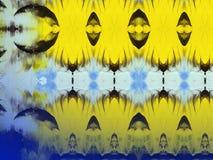 Geschilderde abstracte textuur Stock Afbeeldingen