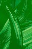 Geschilderde achtergrond Abstract groen vloeibaar patroon Stock Fotografie