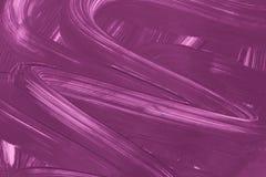 Geschilderde achtergrond Abstract purper vloeibaar patroon Royalty-vrije Stock Afbeelding