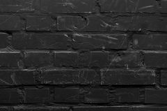 Geschilderde bakstenen muur royalty-vrije stock foto