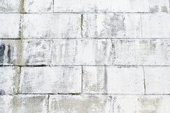 Geschilderde Bakstenen muur Royalty-vrije Stock Afbeeldingen