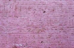 Geschilderde Bakstenen muur Stock Fotografie