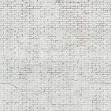Geschilderde bakstenen muur Royalty-vrije Stock Afbeelding