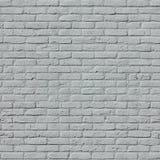 Geschilderde bakstenen muur Stock Foto