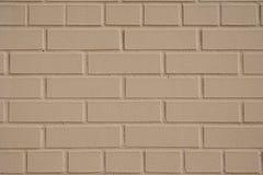 Geschilderde bakstenen muurtextuur 2 Stock Foto's