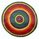 Geschilderde cirkels op ceramisch Royalty-vrije Stock Fotografie