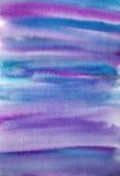 Geschilderde de kunstachtergrond van de waterverf hand Stock Afbeeldingen