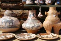 Geschilderde decoratieve keramiek Stock Foto's