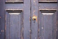 Geschilderde deur royalty-vrije stock foto