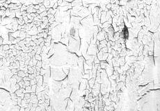 Geschilderde gebarsten muurtextuur Stock Fotografie
