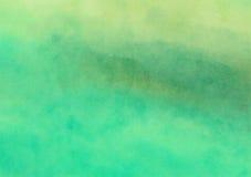 Geschilderde het Canvasachtergrond van de Waterverfwas royalty-vrije illustratie