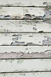 Geschilderde pellende houten panelen Royalty-vrije Stock Afbeeldingen