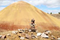 Geschilderde Heuvels stock fotografie