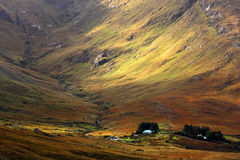 Geschilderde heuvels, Ierland Royalty-vrije Stock Afbeeldingen