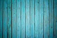 Geschilderde houten omheining stock afbeelding