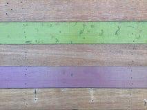 Geschilderde houten textuurachtergrond Royalty-vrije Stock Fotografie