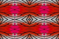 Geschilderde Jezebel Vlinder (Delias hyparete) Stock Fotografie