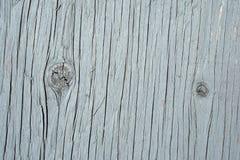Geschilderde knotty houten textuur Stock Fotografie
