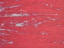 Geschilderde oude houten muur Rode achtergrond royalty-vrije stock afbeelding