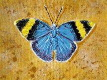 Geschilderde vlinder Royalty-vrije Stock Foto's
