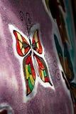 Geschilderde vlinder Royalty-vrije Stock Fotografie