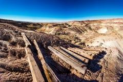 Geschilderde Woestijn Stock Fotografie