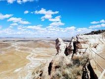 Geschilderde Woestijn royalty-vrije stock foto's