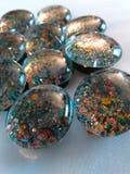 Geschitterde Magneten Stock Foto's
