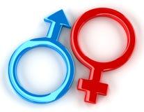 Geschlechter Stockbild