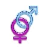Geschlechts-Zeichen Stockfotos