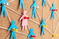 Geschlechtsspezifischer Unterschied in der Firma Suche nach geliebter verbindet Kommunikationsfrauen mit vielen M?nnern lizenzfreies stockfoto