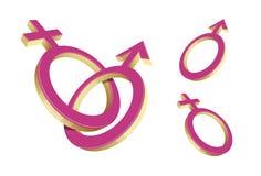 Geschlechtssymbol Stockfoto