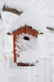 Geschlossen für den Winter stockfotografie