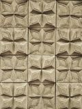 Geschlossen herauf den Block von Zementziegelsteinen, -muster und -fliese Stockfoto