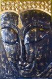 Geschlossen herauf Gesicht Buddha-Statuen Lizenzfreie Stockfotos