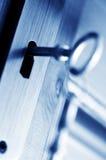 GESCHLOSSEN - Schlüsselsicherheit Lizenzfreies Stockfoto