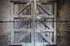 Geschlossene Tür Stockfoto
