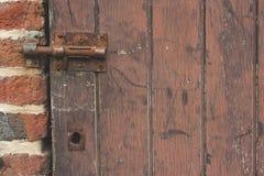 Geschlossene Tür Stockfotografie