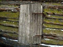 Geschlossene Tür mit Moschus lizenzfreies stockbild
