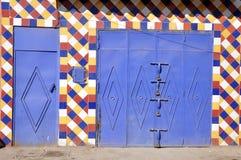 Geschlossene Türen, Marrakesch Stockfoto