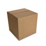 Geschlossener Kasten mit Pfad Lizenzfreie Stockbilder