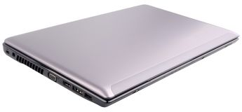 Geschlossener Laptop getrennt Lizenzfreies Stockbild