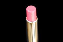 Geschlossener-oben Luxlippenstift ein getrennt Lizenzfreies Stockfoto