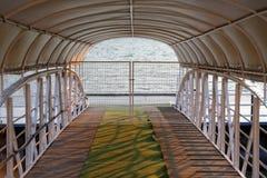 Geschlossener Pier Stockfoto