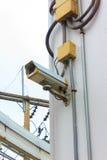 Geschlossener Stromkreis. Stockbild