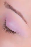 Geschlossenes Auge Stockfotografie