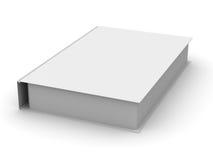 Geschlossenes Buch auf weißem Hintergrund Lizenzfreie Stockfotografie