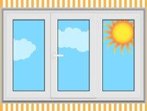 Geschlossenes Fenster Lizenzfreie Stockbilder